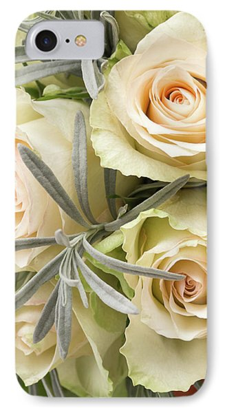 Wedding Flowers IPhone Case by Wim Lanclus