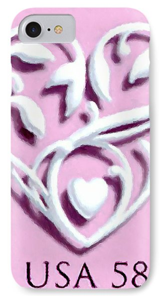 Wedding Hearts IPhone Case by Lanjee Chee