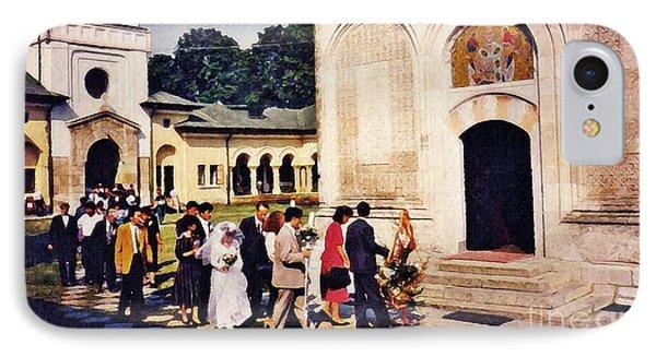 Wedding Procession In Muntenia Phone Case by Sarah Loft