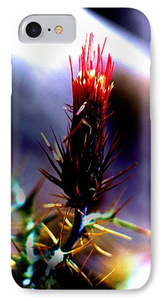 Arizona Thistle IPhone Case