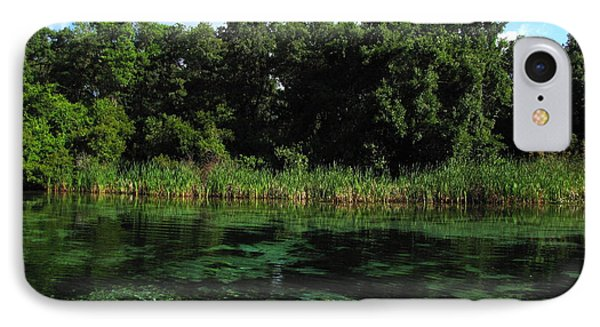 IPhone Case featuring the photograph Weeki Wachee River by Barbara Bowen