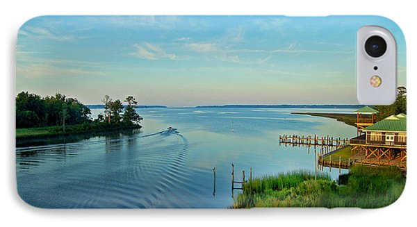 Weeks Bay Going Fishing IPhone Case by Michael Thomas