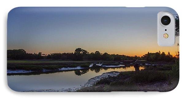 Weeks Landing At Sunrise IPhone Case by Bill Cannon