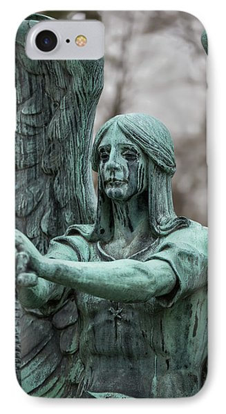 Weeping Angel IPhone Case