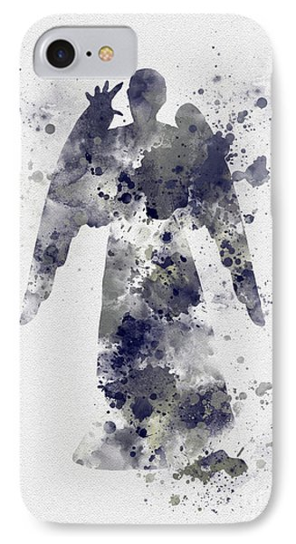Weeping Angel IPhone Case by Rebecca Jenkins