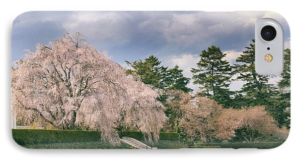 IPhone 7 Case featuring the photograph Weeping Cherry In Bloom by Jessica Jenney