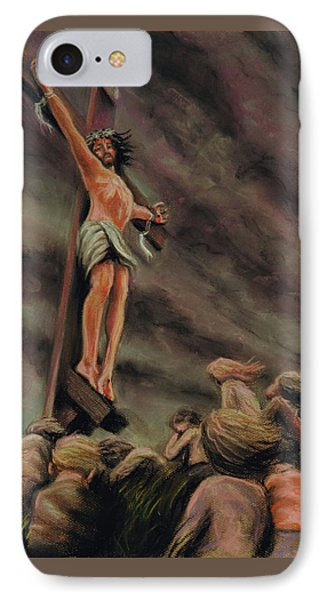 Weeping Children IPhone Case by Dave Luebbert