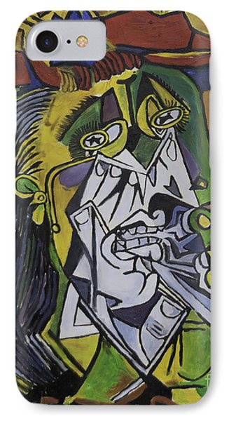 Picasso's Weeping Woman IPhone Case
