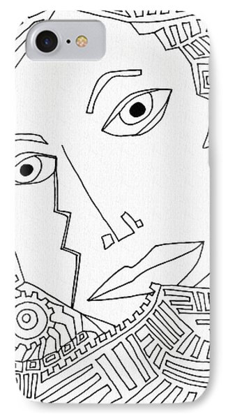 Weeping Woman IPhone Case by Sarah Loft