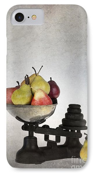 Weighing Pears Phone Case by Jane Rix