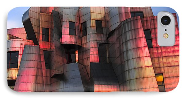Weisman Art Museum At Sunset IPhone 7 Case by Craig Hinton