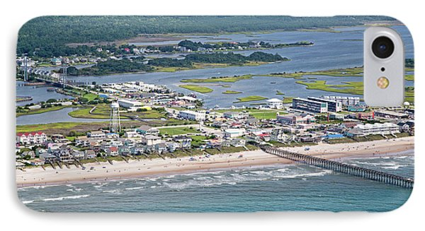 Welcome Aboard Surf City Topsail Island IPhone Case by Betsy Knapp
