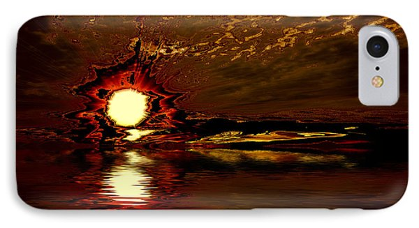 Welcome Beach Sunset 2 Series 1 IPhone Case by Elaine Hunter