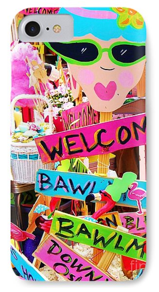 Welcome Hon Phone Case by Debbi Granruth
