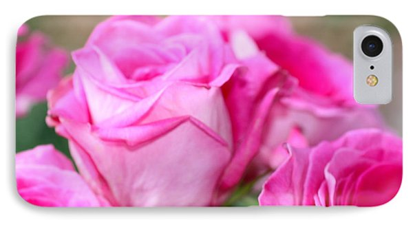 Welcome In Pink IPhone Case by Cathy Dee Janes