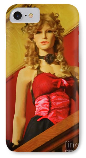 Welcome Lady At The Palace On Whiskey Row IPhone Case