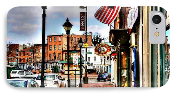 Welcome To Fells Point IPhone Case by Debbi Granruth