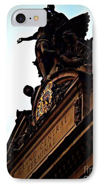 Welcome To Grand Central IPhone Case by James Aiken