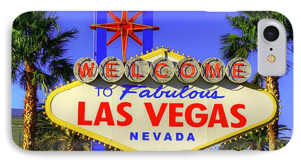 Welcome To Las Vegas IPhone Case by Anthony Sacco