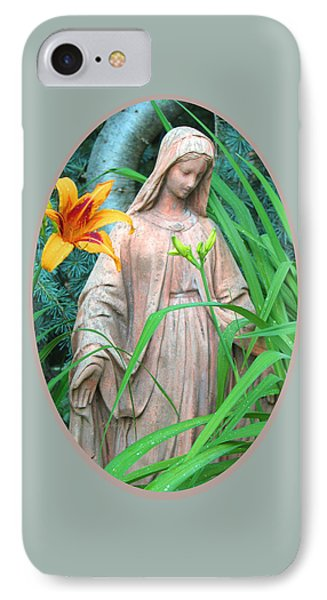 Peace Be With You - Images From The Garden IPhone Case by Brooks Garten Hauschild