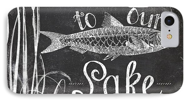 Welcome To Our Lake House Sign IPhone Case by Mindy Sommers