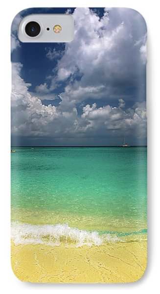 Welcome To Paradise IPhone Case by Marie Hicks