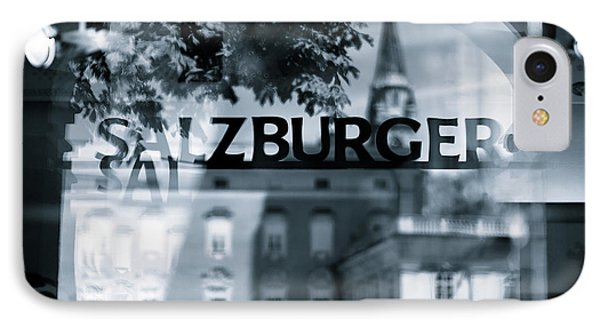Welcome To Salzburg Phone Case by Dave Bowman