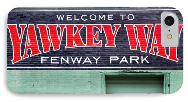 Welcome To Yawkey Way IPhone Case