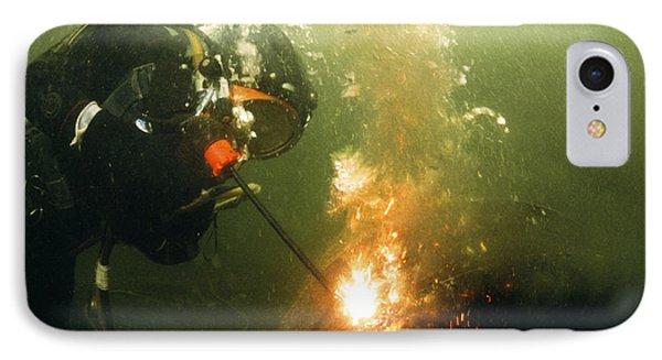 Welding Underwater Phone Case by Peter Scoones