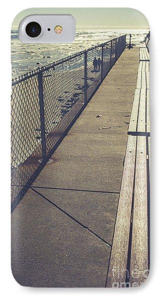Wells Beach Maine IPhone Case by Edward Fielding