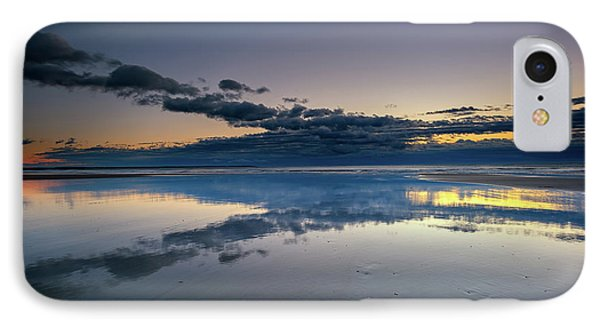 Wells Beach Reflections IPhone Case