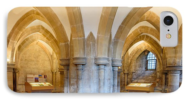 Wells Cathedral Undercroft IPhone Case