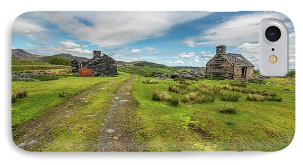 Welsh Cottage Ruins IPhone Case