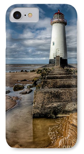 Welsh Lighthouse  Phone Case by Adrian Evans