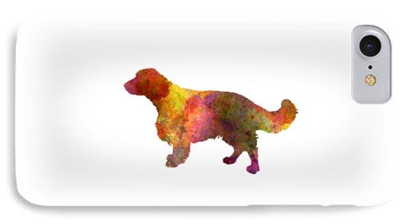 Welsh Springer Spaniel In Watercolor IPhone Case