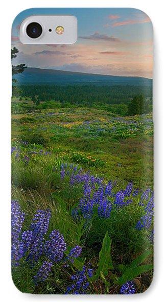Wenas Valley Sunset Phone Case by Mike  Dawson
