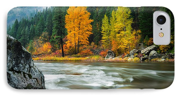 IPhone Case featuring the photograph Wenatchee Riverside by Dan Mihai