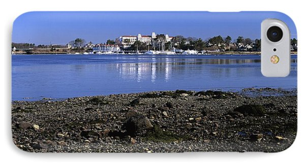 Wentworth By The Sea Hotel - New Castle New Hampshire Usa Phone Case by Erin Paul Donovan