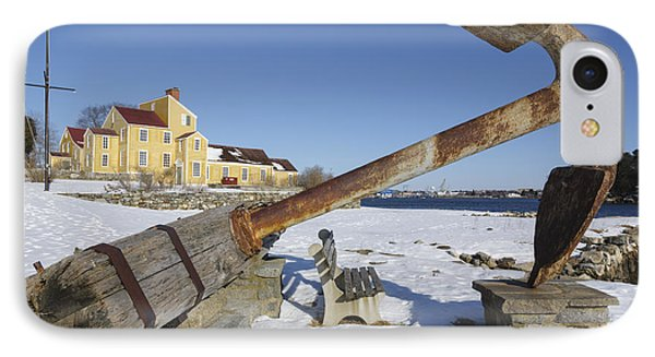 Wentworth Coolidge Mansion - Portsmouth New Hampshire IPhone Case by Erin Paul Donovan