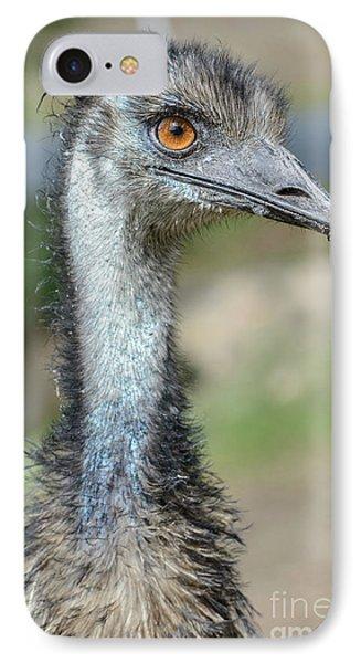 Emu 2 IPhone 7 Case by Werner Padarin