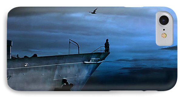 West Across The Ocean IPhone 7 Case by Joachim G Pinkawa