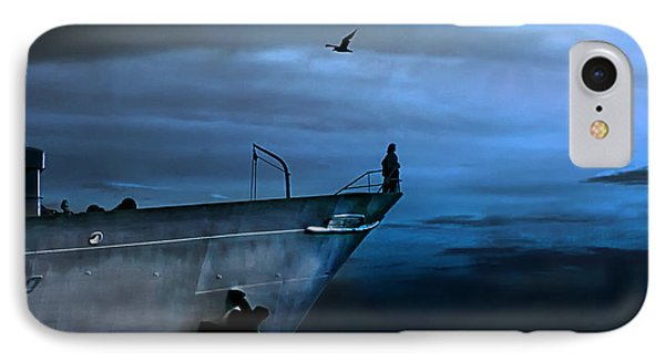 West Across The Ocean IPhone Case by Joachim G Pinkawa