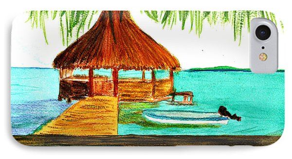 West End Roatan IPhone Case by Donna Walsh