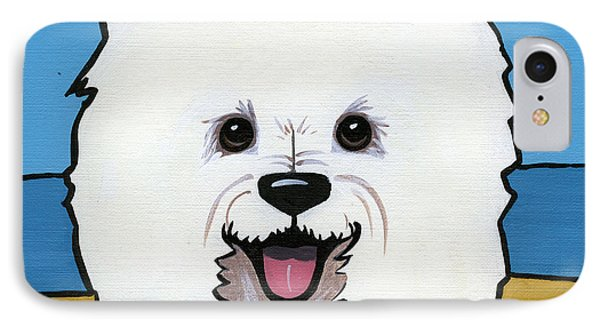West Highland Terrier IPhone Case by Leanne Wilkes