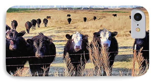 IPhone 7 Case featuring the digital art West Kansas Economics by JC Findley