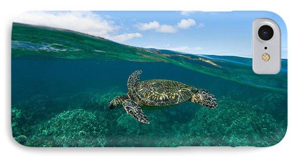 West Maui Green Sea Turtle IPhone Case