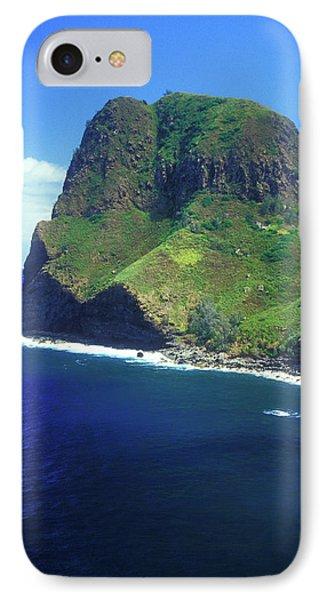 West Maui Ocean Cliff Phone Case by John Burk
