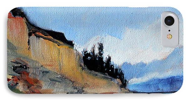 IPhone Case featuring the painting West Of Dungeness by Nancy Merkle