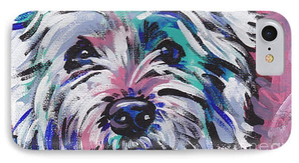 West Of The Wall IPhone Case by Lea S