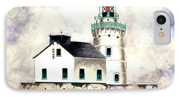 West Pierhead Lighthouse Phone Case by Michael Vigliotti